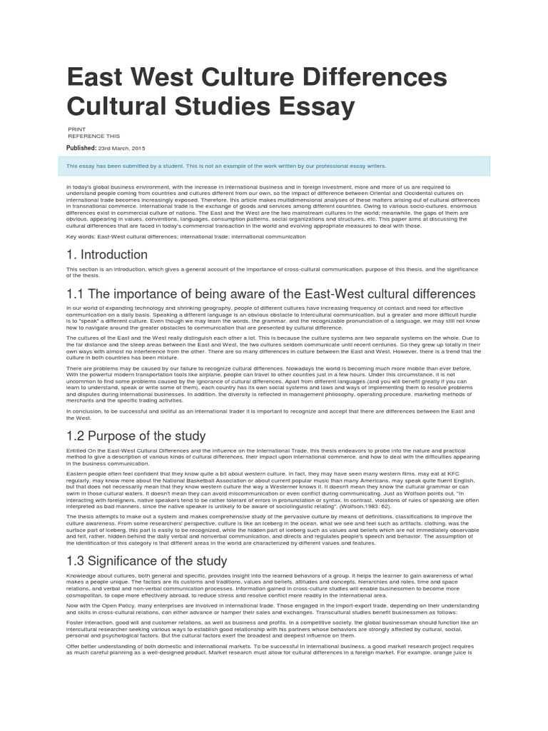 Topics for research paper in