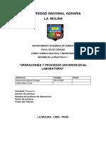 Informe 1 Operaciones y Procesos Unitarios