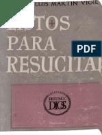 Martin Vigil Jose Luis Listos Para Resucitar