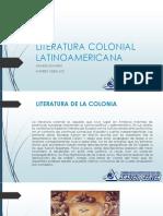 Literatura Colonial Latinoamericana