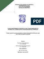 Páez y Pedroza. Plan de Mtto AutoTX CORPOELEC 02.06.17