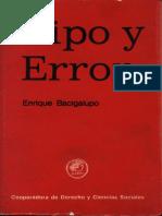 Bacigalupo, Enrique - Tipo y Error.pdf