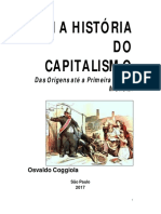 COGGIOLA, Osvaldo - As Origens Do Capitalismo