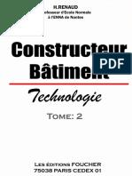 Constructeur Batiment 1opt Tome II