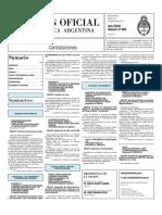 Boletin Oficial 19-08-10 - Tercera Seccion