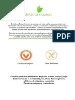 Stevia Dulzura Natural