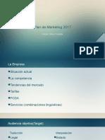 Plan de Marketing 2017
