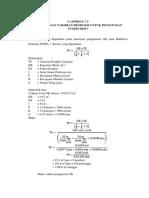 Lampiran 7.5 Perhitungan Taksiran Produksi Untuk Pengupasan OB