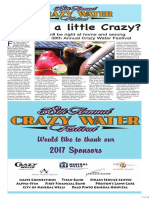 38th Annual Crazy Water Festival 2017