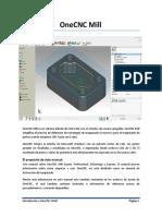 OneCNC XR6 Mill Manual Español