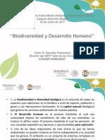 Biodiversidad y Desarrollo Humano.