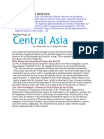 Diff. About North and Central Asia
