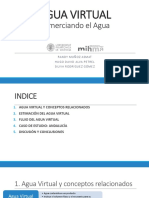 Ppt Agua Virtual