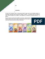 Primer Grado. Matemática  - Tema Sistema Monetario - Semana  del 30 al 3 de junio 2016.docx