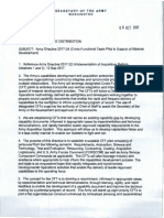 Army Acquisition Reform CFTs