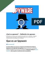 Qué Es Spyware