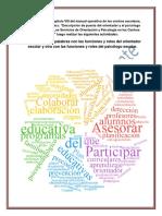 Actividades Lectura Del Capítulo VIII Del Manual Operativo de Los Centros Escolares