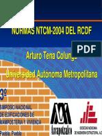 Ntc Mapostería Arturo Tena