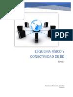 Tema 2 Esquema Físico y Conectividad de Bd