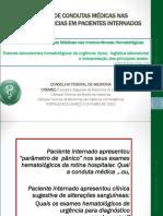 Exames laboratoriais hematológicos d eurgência  tipos, logística e interpretação dos testes.ppt