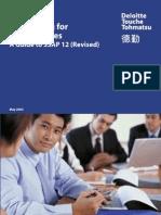 Accounting for Income Taxes - Hong Kong GAAP Deloitte