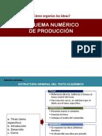 Esquema Numerico de Producción