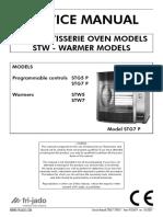 2011_11_04 Manual de Servicio Horno Rosticero Marca Frijado Modelo STG -STW