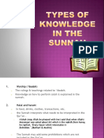 Types of knowledge in the sunnah.pptx