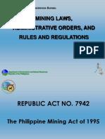 MiningLaws AdministrativeOrdersRulesandRegulations DUU