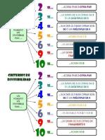12 Copias - Criterios