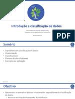 Introdução a Classificação de Dados
