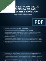 Fundamentación de La Metafísica de Las Costumbres-prólogo (1)
