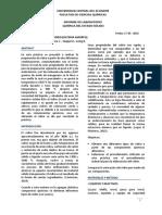 Informe 4 Preparacion de Vidrios