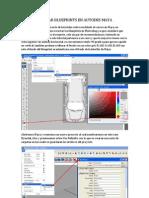 Colocar Blueprints en Autodesk Maya