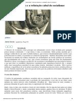 Mises Brasil - A Escola Austríaca e a Refutação Cabal Do Socialismo