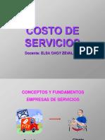 Copia de Diapositivas de Costos de Servicios