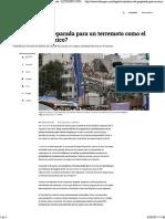 ¿Está Bogotá preparada para un terremoto como el que afectó a México?