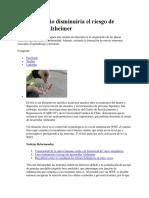 20170831 Litio Disminuiria El Riesgo de Desarrollar Alzheimer