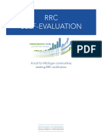 rrc self-evaluation form  1 test