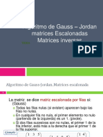 Gauss y Sistemas de Ecuaciones