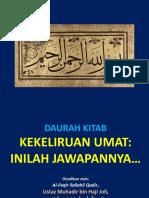 Daurah Kitab Ustaz Muhadhr Hj Jol
