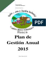 Plan de Gestión 2015 Gigita