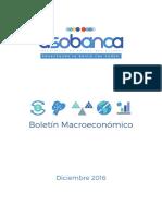 Boletín Macroeconómico - Diciembre 2016