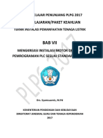 BAB 7 Mengkreasi Instalasi Motor Dengan Pemograman PLC Sesuai Standar Puil