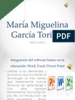 María Miguelina García Toribio