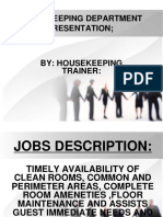 House Keeping 2 Revising Module