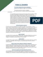 Para Examen Teorico de Diagnostico y Tecnicas de Investigacion