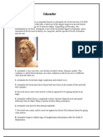 Alexander Facts