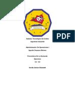 Pronosticos de La Demanda ADMINISTRACION DE OPERACIONES 1 4.5-4.8