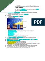 Chapter 3 Movement of Substances Across the Plasma Membrane (2)